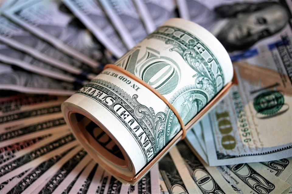 dolarová rulička