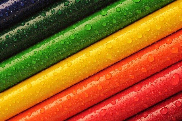 Barvy, pastelky