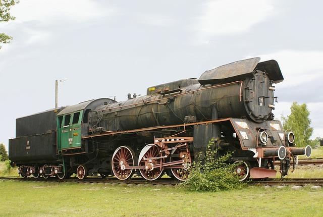 lokomotiva na dráze